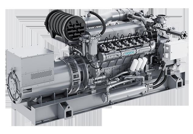 Газовые электростанции Siemens