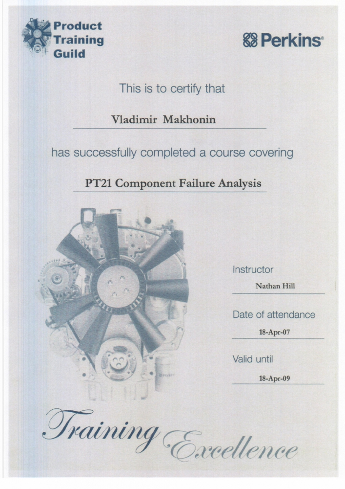 PT21  Component Failure Analysis
